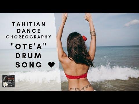 Ote'a Drum Song/ How to Tahitian Dance Basics/ Steps Tutorial Polynesian Dance/Ori Tahiti/ タヒチアンダンス thumbnail