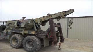 1971 Jeep M816-TK wrecker truck for sale | no-reserve Internet auction April 6, 2016