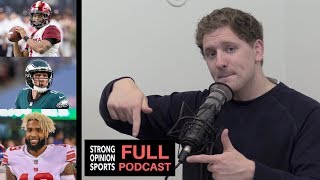 OBJ Trade, Kyler Murray Film Analysis, Nick Foles Film Analysis & Antonio Brown Trade