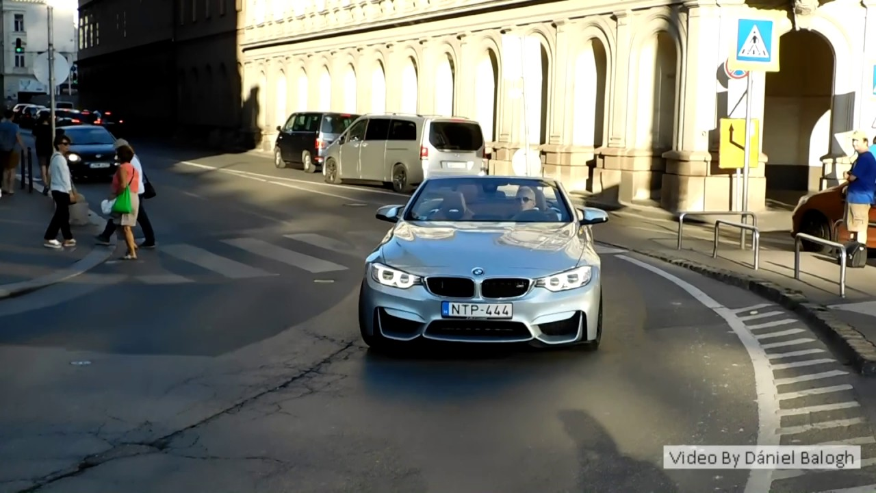 BMW M4 F83 Convertible sound and brutal acceleration in ...