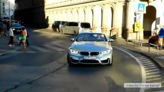 BMW M4 F83 Convertible Sound And  Brutal Acceleration In Budapest