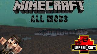 | Jurassicraft showcase | All mobs/dinosaurs |