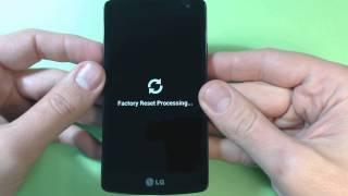 LG F60 D390N hard reset