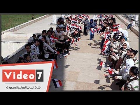 مسيرة -فى حب مصر- لغرس الروح الوطنية بالفتيات فى بورسعيد  - نشر قبل 11 ساعة