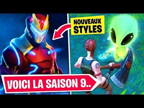 LA SAISON 9 DE FORTNITE A FUITÉ !! (+ ÉVÉNEMENT À VENIR) thumbnail
