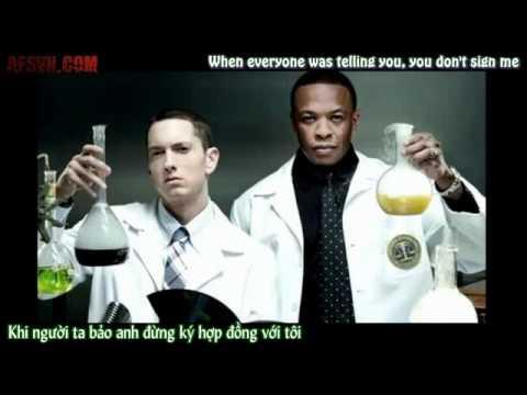 [Vietsub] I Need A Doctor -  Eminem ft. Dr Dre, Skylar Grey