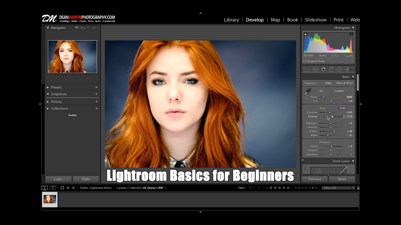 Lightroom 5 Tutorial for Beginners & First time Users