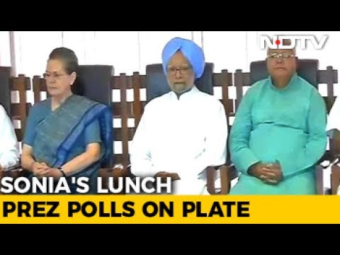 Sonia Gandhi's 'Unity' Lunch For Opposition, As Modi Government Turns 3