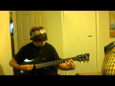 me playing guitar (story of my life chords) - YouTube