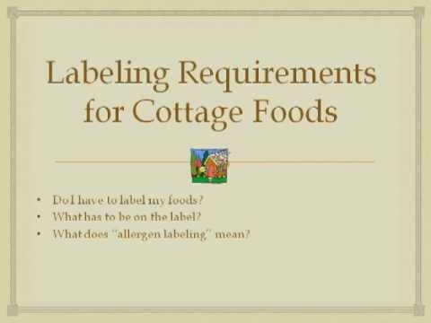 Cottage Foods Regulations in Georgia - November 2012