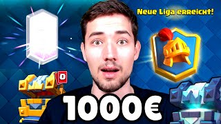 NEUER 1.000€ PAY2WIN ACCOUNT! 💰 0 auf 6000 Trophäen🏆 in Clash Royale?