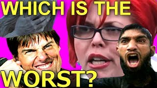 Which is worse? Christian Reason, Feminism, Islam or Scientology?
