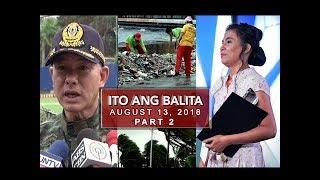 UNTV: Ito Ang Balita (August 13, 2018) PART 2