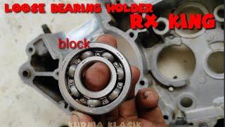 Repair loose bearing hollder