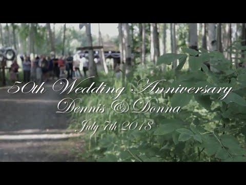 Dennis & Donna 50th Wedding Anniversary