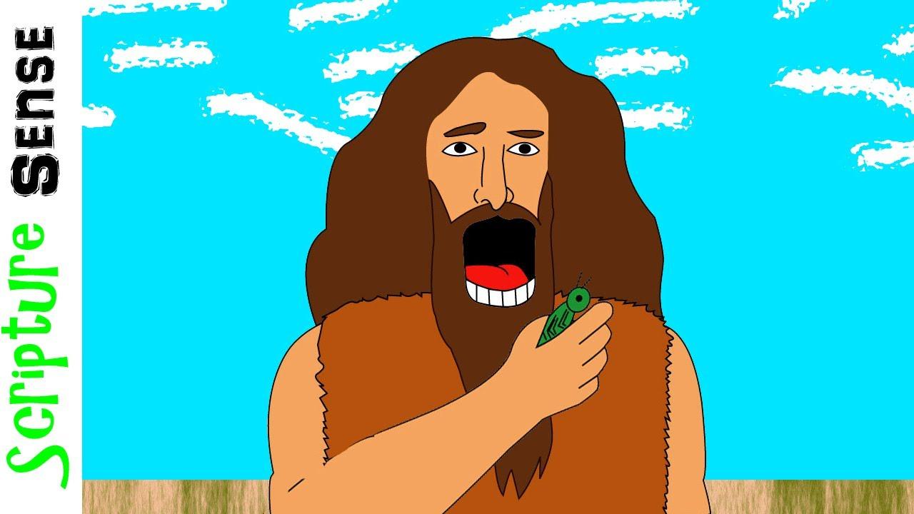 Image result for john the baptist locusts
