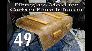 Mold Making for Carbon Fiber Infusion.  Please watch the version with fixed sound. Linked below.
