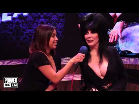 Krystal B's Interview with Elvira The Mistress of the Dark