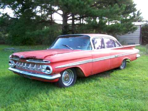 1959 chevy impala 348 factory air for sale youtube. Black Bedroom Furniture Sets. Home Design Ideas
