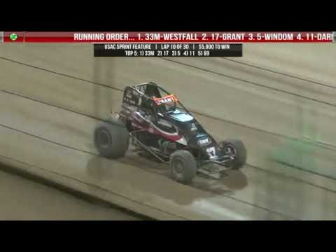 9.24.16 Four Crown Nationals  |  Feature Highlights  |  USAC and All Stars
