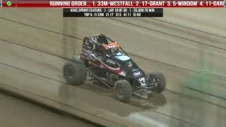 Eldora Speedway 35th Annual Four Crown Nationals Feature Highlights