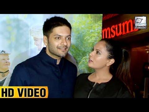 Ali Fazal And Richa Chadda's CUTE Moment   Victoria & Abdul  LehrenTV