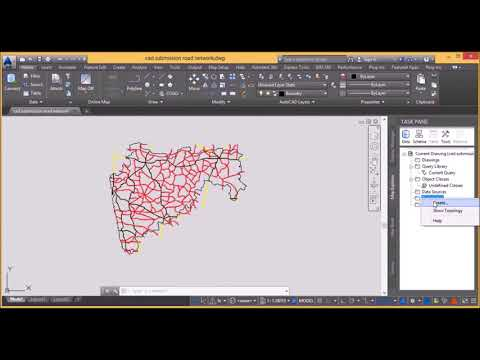 How to Create Topology In autocad map