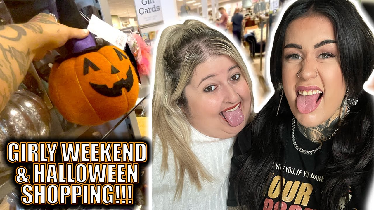 VLOG: Spending The Weekend With My Bestie & Halloween Shopping!!