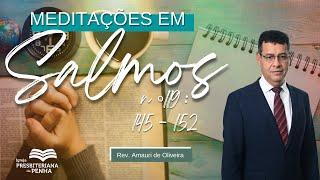 Culto da Manhã com #libras | Rev. Amauri Oliveira - Salmo 119:145 -152 | Enfrentando as adversidades