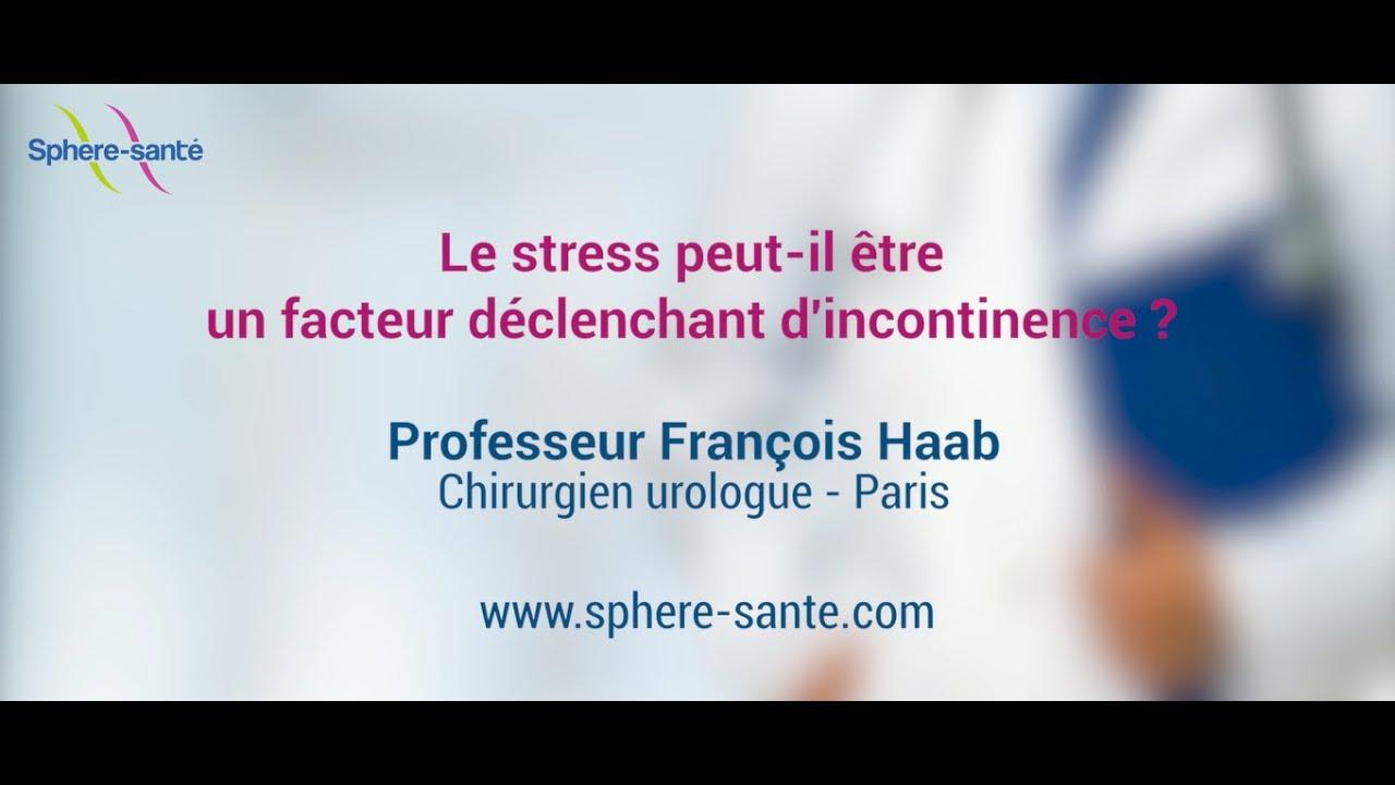 Le stress, facteur déclenchant de l'incontinence ?
