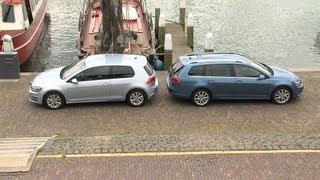 VW Golf 7 und VW Golf 7 Variant im Vergleich