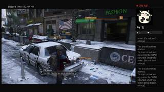 The Division, Part Thirty Three, PS4 Live Broadcast, No Commentary, Walkthrough