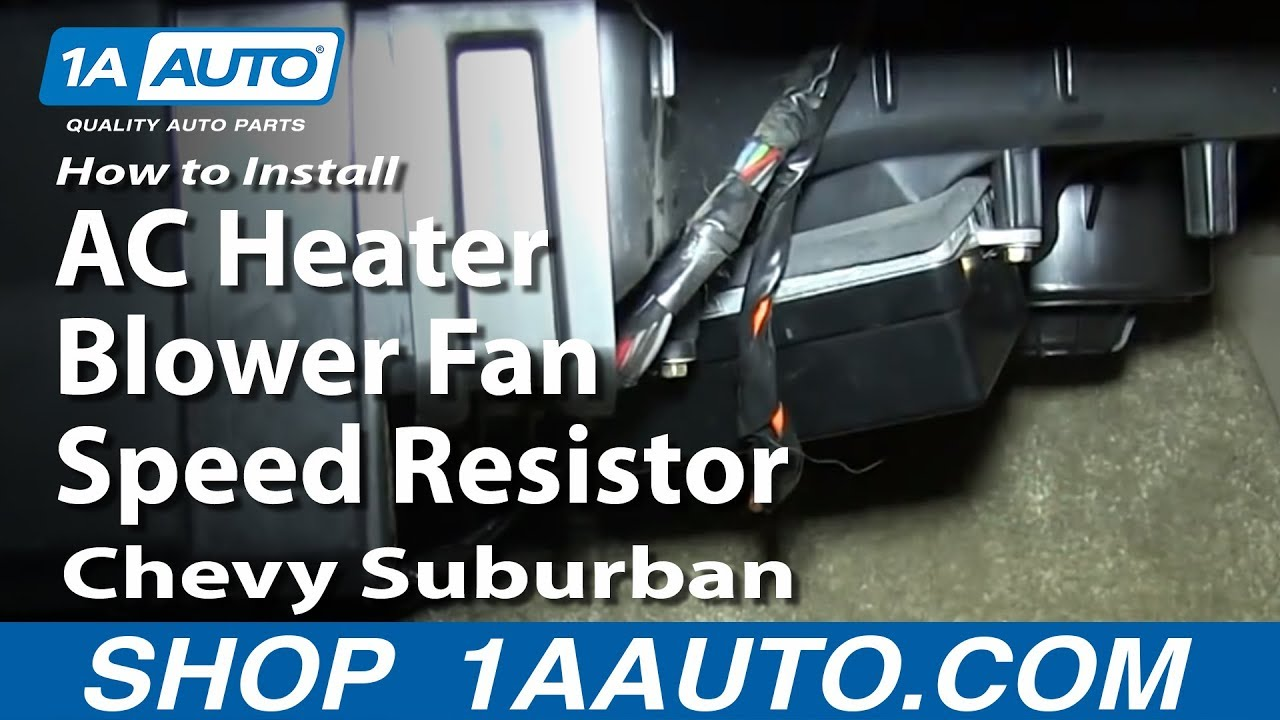 Heater Stopped Working: A Common Chevy Avalanche Issue - 1A