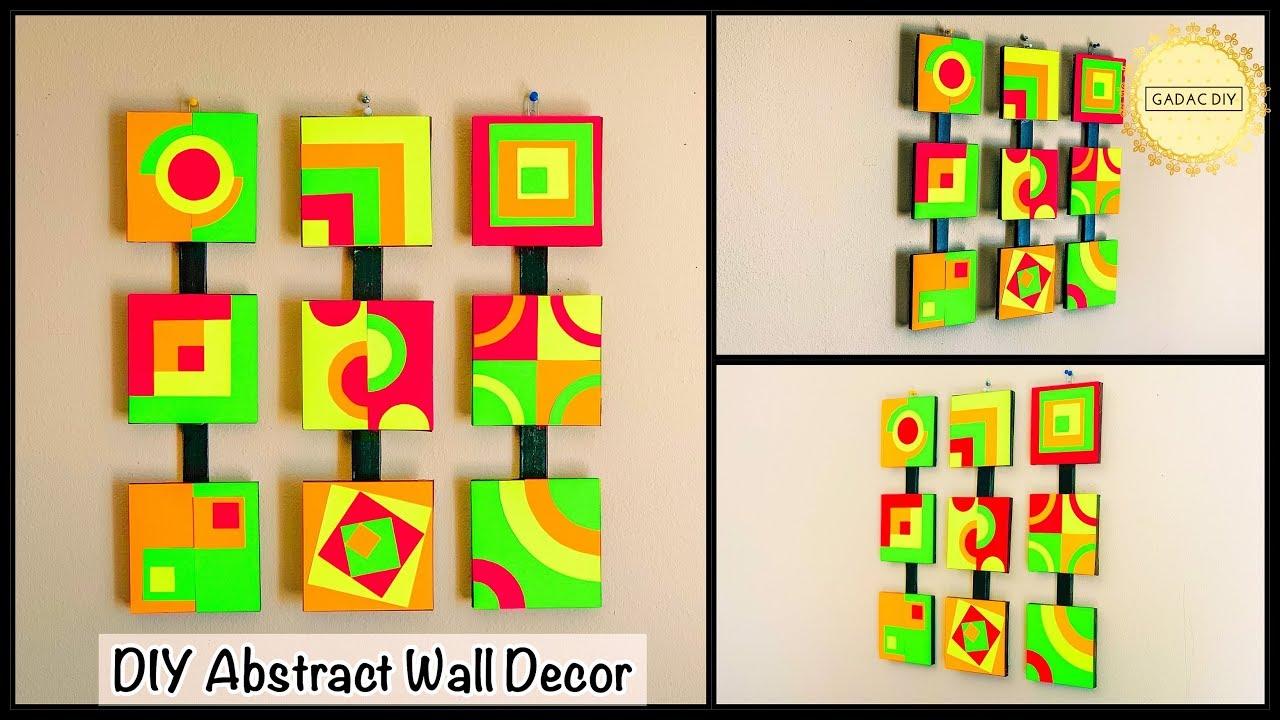 Brighten Up Your Living Room Unique Wall Decoration Ideas Gadac Diy Diy Crafts Diy Room Decor Youtube