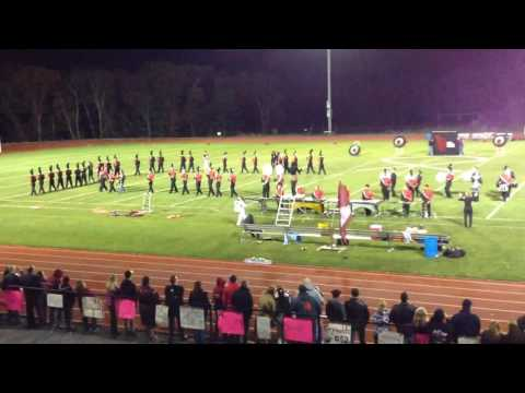 Killingly high school marching band show
