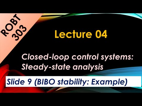 Bibo Stability Of Closed Loop Systems Example 01