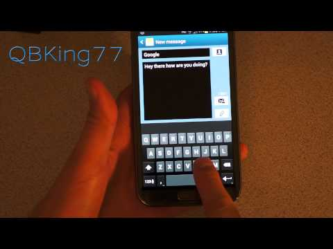 Android 4.2 Jelly Bean Keyboard Review And Install