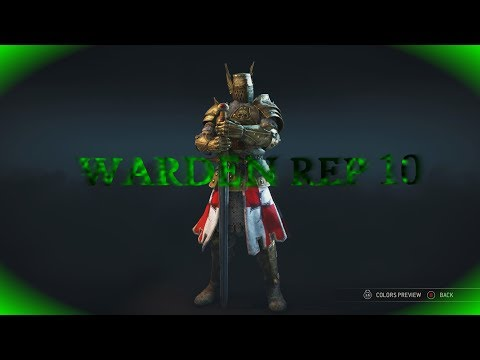 FOR HONOR REPUTATION 11 WARDEN DUELS (New looks)