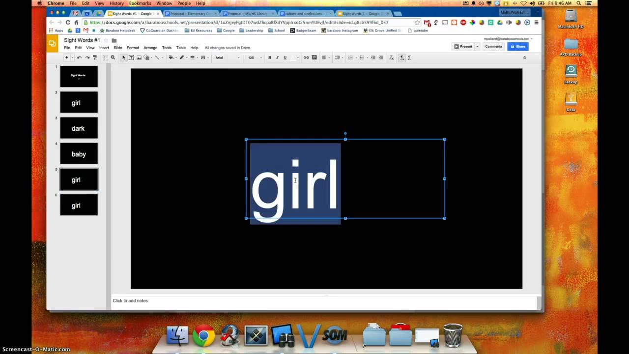creating an automated slide show in google slides youtube