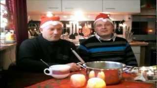 Lammert Grofsmid en Gert Tuinstra hun kerst menu