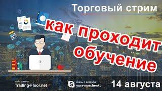 Как проходит обучение 🎙️🎙️🎙️ Торговля forex в режиме онлайн. 🎙️🎙️🎙️