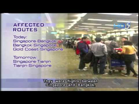 Hundreds Stranded After Budget Airline Scoot Hit By Flight Delays - 01Feb2013