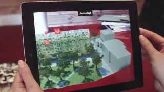 Интерактивный макет реконструированного жилого дома KR Properties от PlayDisplay