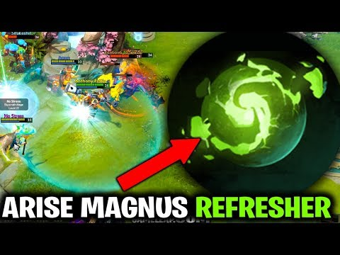 ARISE MAGNUS - HE TRIED HIS BEST WITH REFRESHER