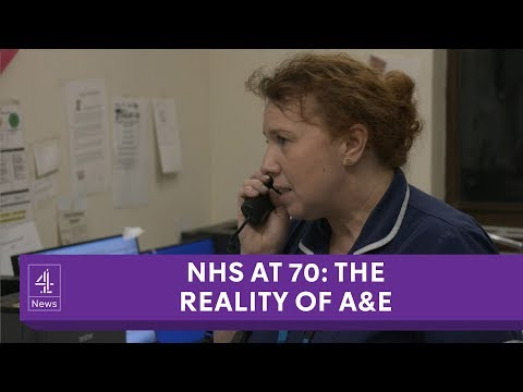 How NHS staff handle acute pressure in A&Es