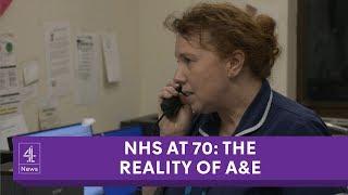 How NHS staff handle acute pressure in A&Es