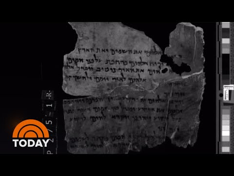 How NASA Technology Is Deciphering Mysterious Dead Sea Scrolls | TODAY