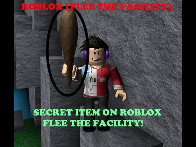 NEW! SECRET ITEM ON ROBLOX (FLEE THE FACILITY)!