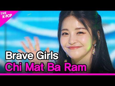 Brave Girls, Chi Mat Ba Ram (브레이브걸스, 치맛바람) [THE SHOW 210622]