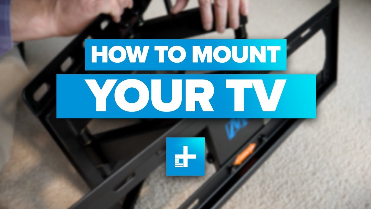 How to Wall Mount a TV - YouTube